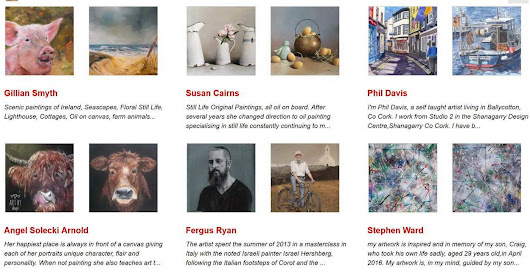 Irish artists, Irish art, Painting of Ireland, more than 700 artists showing their work online here.