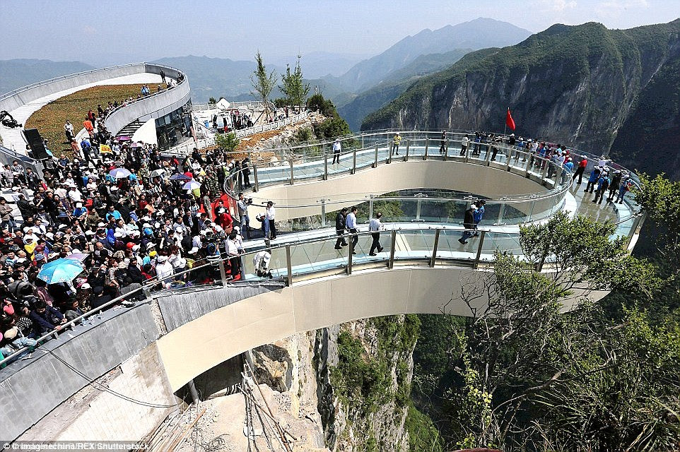 The park is limiting it to just 30 people at a time to ensure visitors have plenty of room to enjoy the view