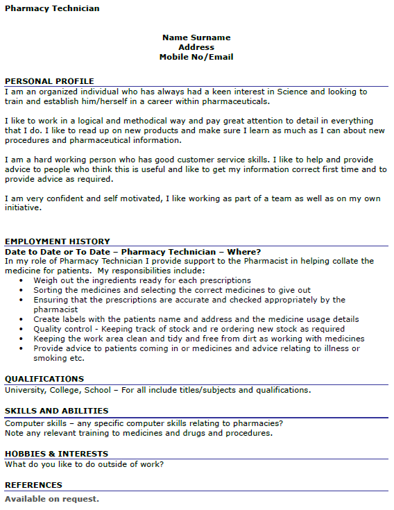cover letter example  vitae cover letter example pharmacist