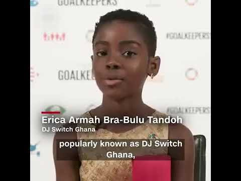 CNN: Meet 10-year-old DJ Switch who wowed world leaders with her impressive skills