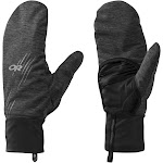 Outdoor Research Overdrive Convertible Gloves Charcoal Heather/Black