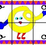 o 150x148 Crea entretenidos puzzles con las letras del abecedario
