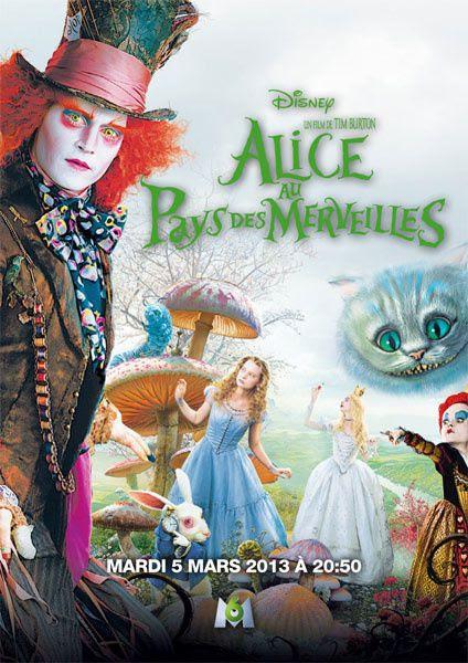 Le Film Alice Au Pays Des Merveilles De Tim Burton Diffusé