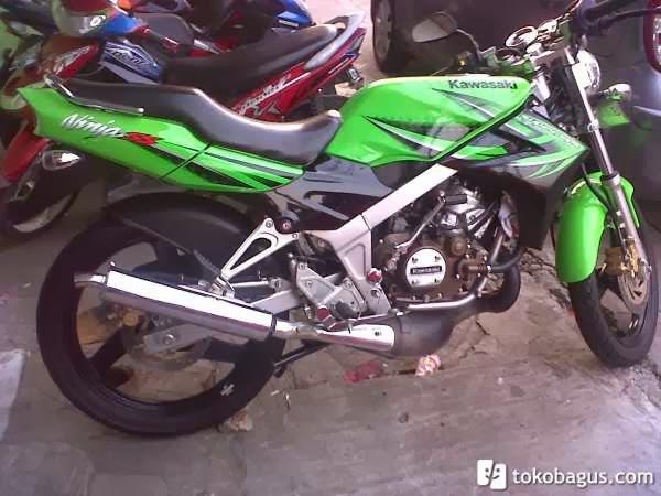 Kawasaki Ninja R Green Kawasaki Bekas Barang Second Tapi