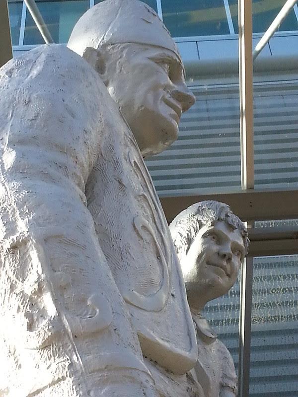 OHSU Shriner Statues