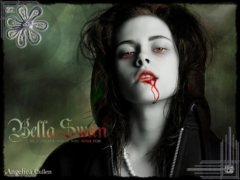 pics of kristen stewart as a vampire