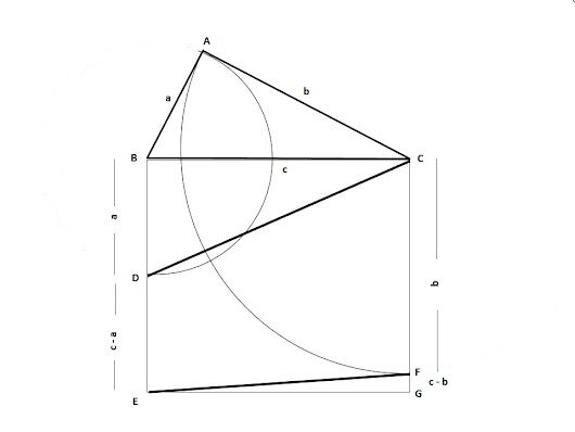 A New way, The Area of Trapezium