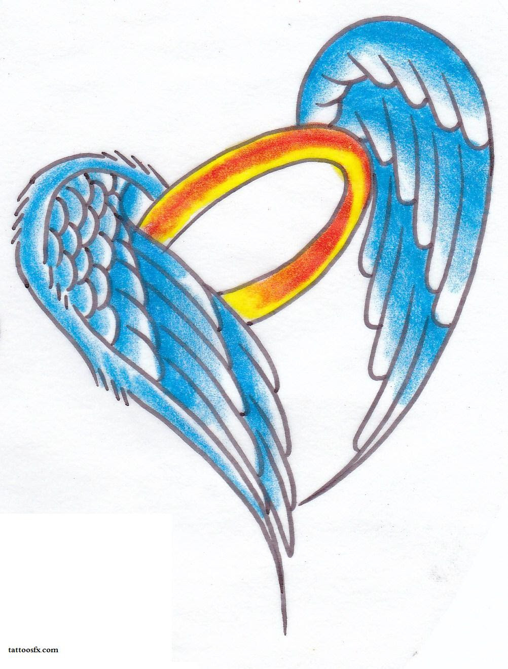 Free Angel Wings With Halo Drawings Download Free Clip Art Free