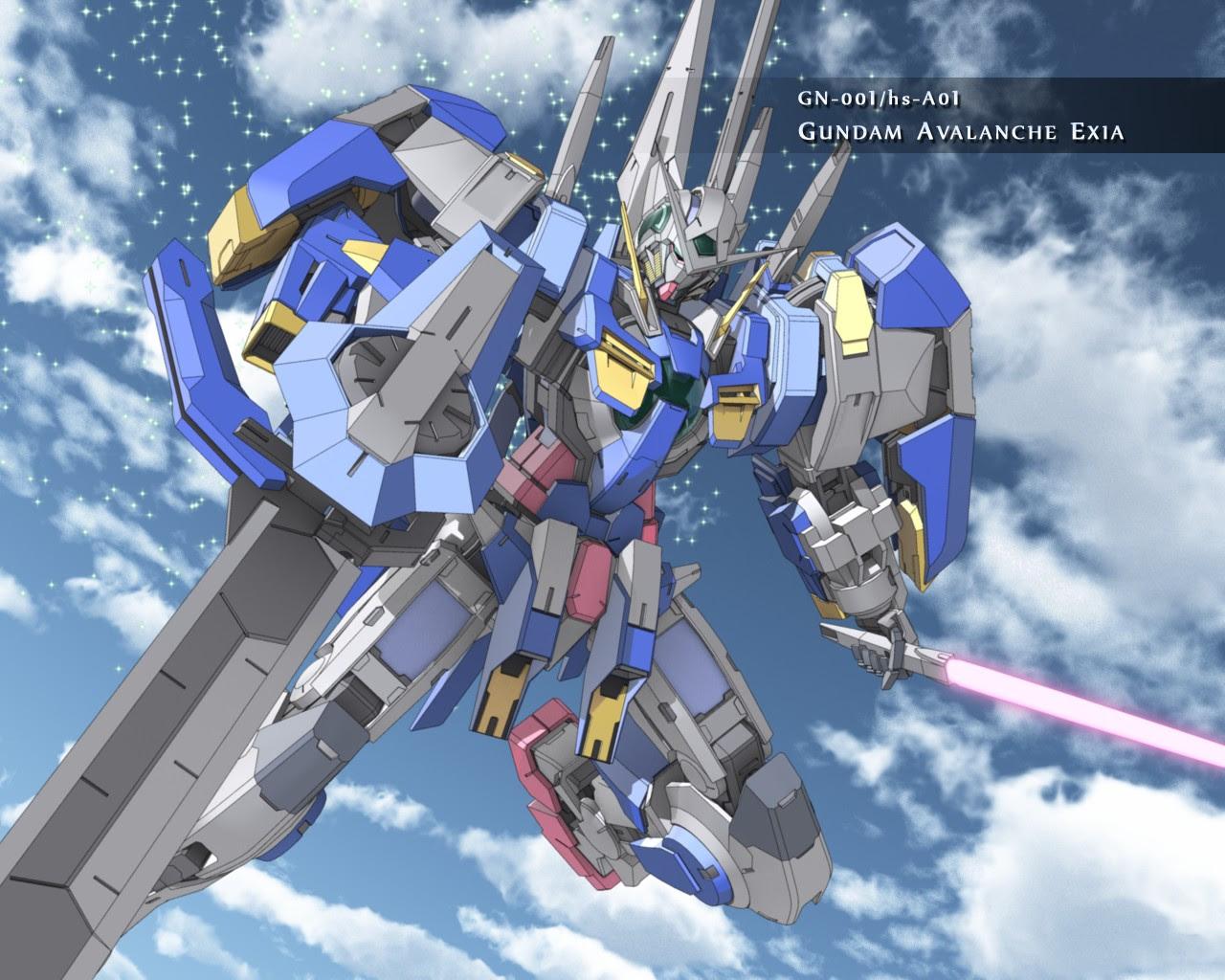Gundam Avalanche Exia Gundam Wallpaper 25015972 Fanpop
