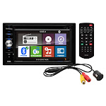 Boss Audio BVNV9384RC 6.2 in. Double Din LCD Touchscreen with Back Up Camera