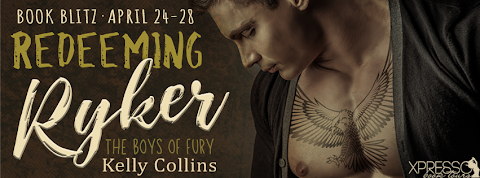 Book Blitz: Redeeming Ryker by Kelly Collins + GIVEAWAY