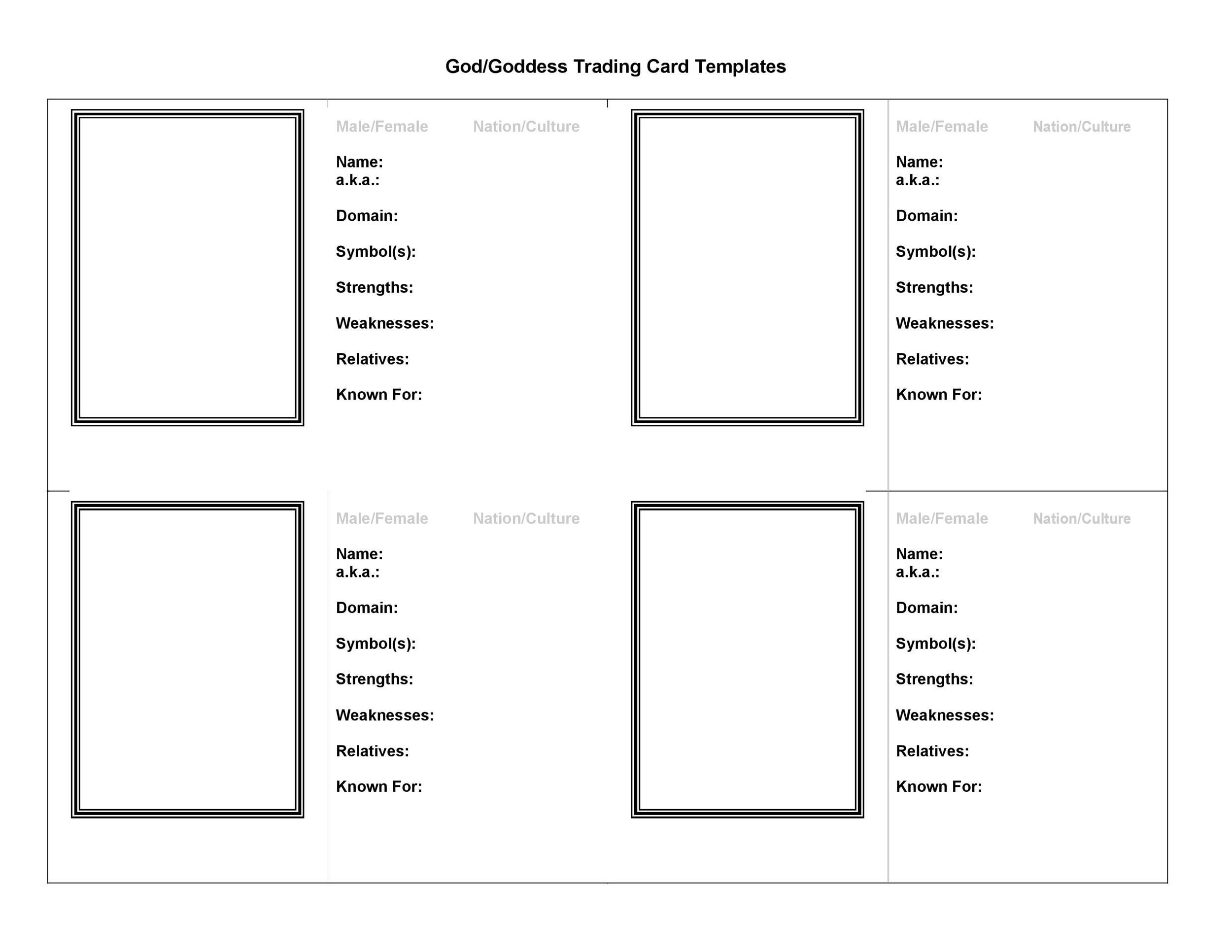 Pokemon HD: Pokemon Card Template Front And Back Regarding Free Trading Card Template Download