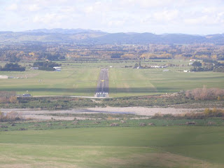 Short final Masterton runway 06
