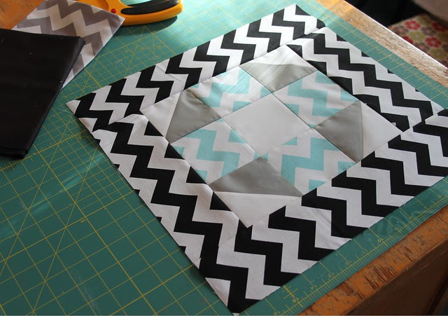 Chevron Quilt Block