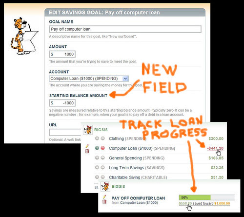 Get-Out-Of-Debt Savings Goal
