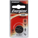 Energizer 2025 3V Keyless Lithium Coin Battery