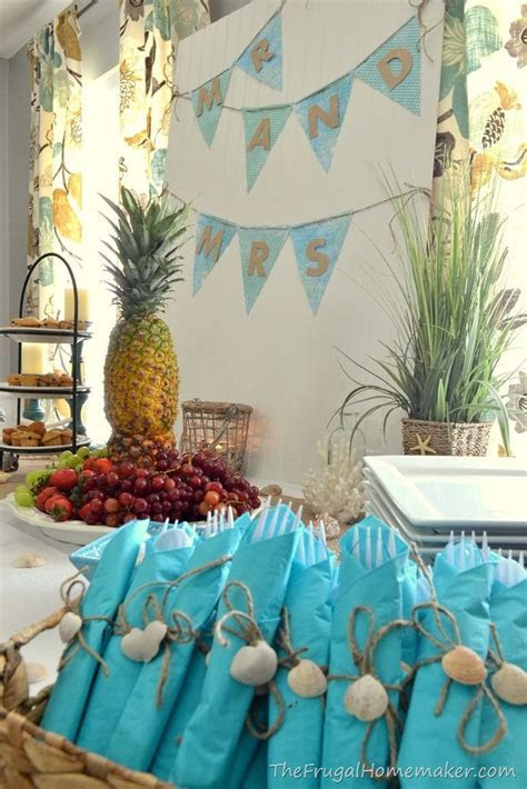 25  best ideas about Beach bridal showers on Pinterest