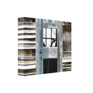 Old Barn Wrapped Canvas wrappedcanvas