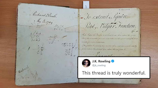 Museum Finds 18th Century Math Book Containing Delightful Surprises