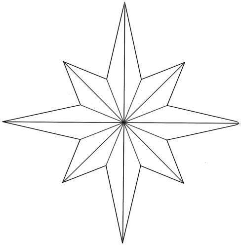 8 piont star