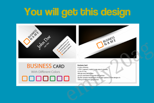 emily20ag : I will give you this Business Card with your name address for $5 on www.fiverr.com