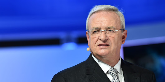 BREAKING: VW Group CEO Martin Winterkorn Resigns