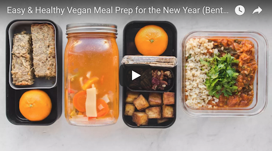 Easy & Healthy Vegan Meal Prep For The New Year (Bento Box) - The Veggie Blog