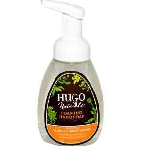 Hugo Naturals Foaming Hand Soap, Vanilla and Sweet Orange, 8.5-Ounce