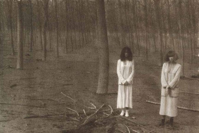 Deborah Turbeville's Isabelle Weingarten and Ella Milewiecz, 1978