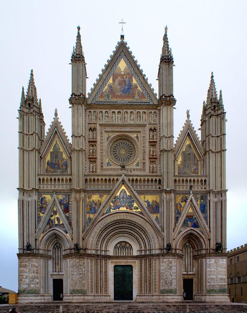 Facade. Catedral de Orvieto 2
