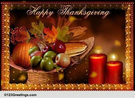 Special Thanksgiving Wishes! Free Happy Thanksgiving
