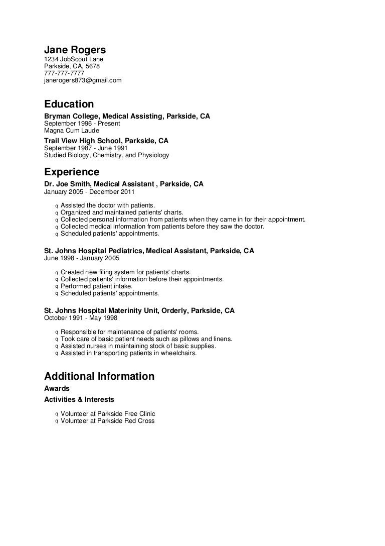 Cover Letter For Personal Care Assistant With No ...