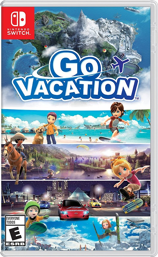Nintendo Switch: Go Vacation Game Now Available!