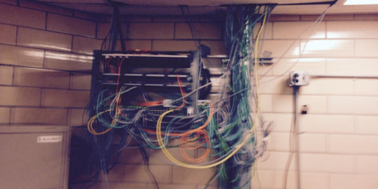 Inmates built computers hidden in ceiling, connected them to prison network