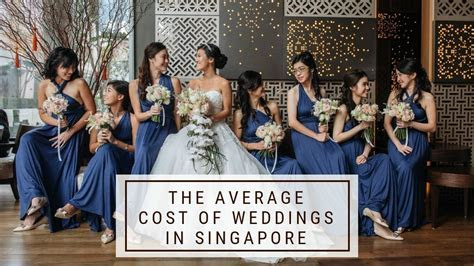 The Average Cost of Weddings in Singapore   Saving Tips