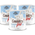 Augason Farms Country Fresh Real Instant Nonfat Dry Milk Large Can White 3-pack (no. 10 can)