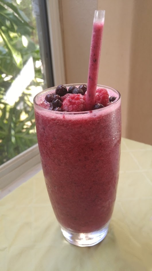 2 Step Pineapple Triple Berry Smoothie – Single Serve