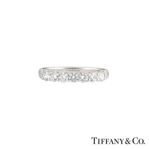 Tiffany & Co Diamond Half Eternity Ring in Platinum 0.60ct