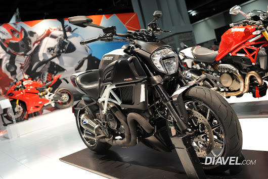2015 Ducati Diavel Carbon Pictures - International Motorcycle Show - Ducati Diavel Forum