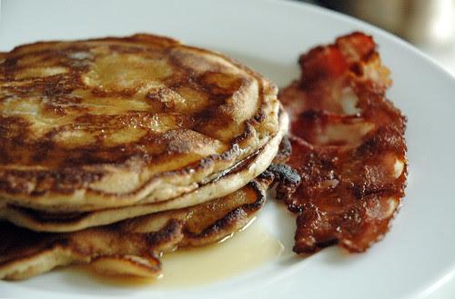 Balsamic Vinegar Pancakes