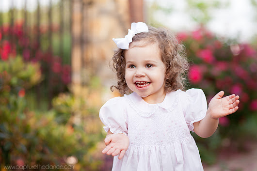 Woodlands Child Pictures - Curls! - Capture the Dance Photography