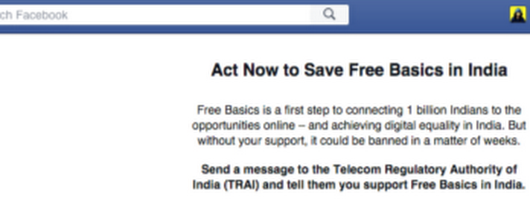 Free Basics by Facebook in India
