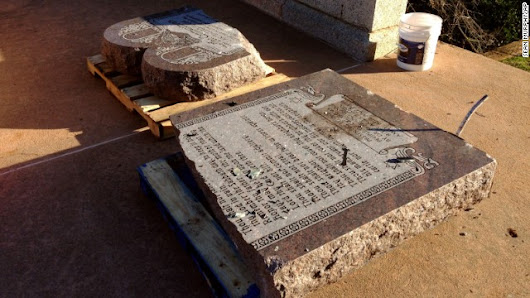 Agents: The devil made him do it; 10 Commandments smashed