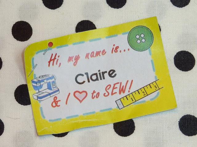 Hi, my names is... & I love to SEW!