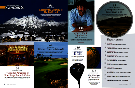 Have You Seen The Latest Issue of LuxeGetaways Magazine?