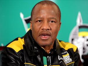 Jackson Mthembu, spokesperson for the African National Congress of South Africa. Mthembu issues statements on behalf of the ruling party related to domestic and international issues. by Pan-African News Wire File Photos