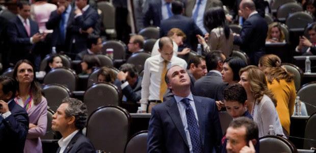Sesión en la Cámara de Diputados. Foto: Miguel DImayuga.