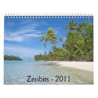Zenbits 2011 Calendar calendar