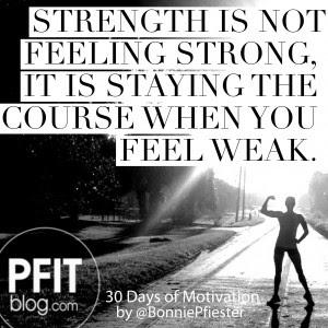 30 Days Of Motivation How To Find Your Strength Pfitblog