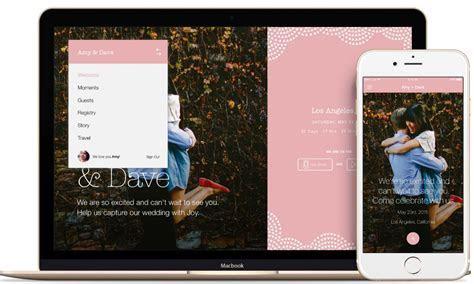 Joy Wedding Website and App   Weddings By Funjet